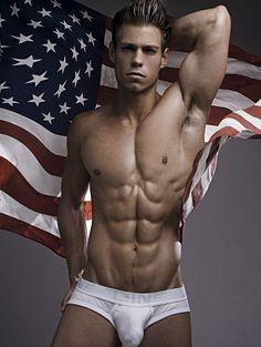 Paul Baber male fitness model