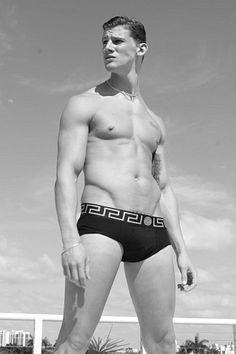 Brent McCormack male fitness model