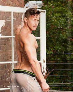 Peter Baranyai male fitness model