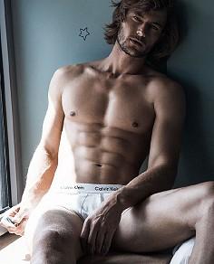 Craig Le Roux male fitness model