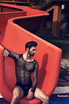 Jacek Jelonek male fitness model