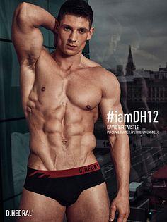 David Birtwistle male fitness model