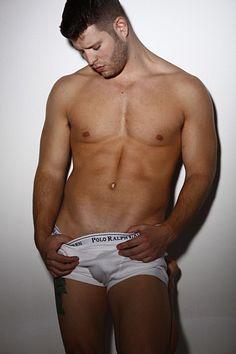 David Salmonson male fitness model