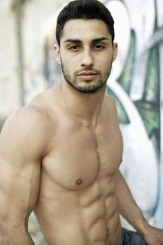 Claudio Salatino male fitness model