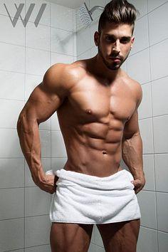 Bob Gerrity male fitness model