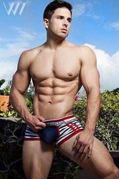Eric Wainwright male fitness model