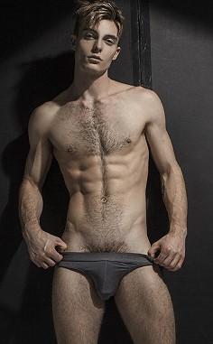 Edward Alan male fitness model