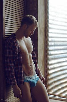 Anton Rusakov male fitness model