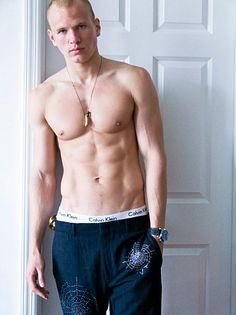 Artem Nikitin male fitness model