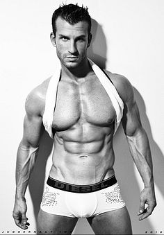 Logan Springston male fitness model