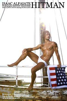 Isaac Alfaiate male fitness model