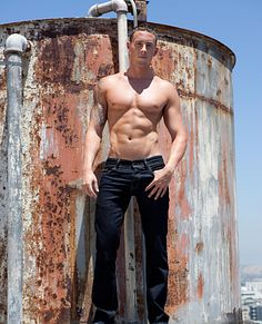 Chris Syers male fitness model