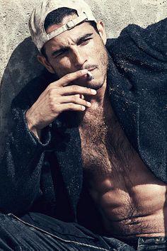 Joshua Lovrin male fitness model