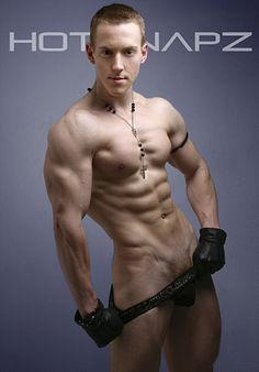Anthony Hague male fitness model