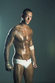 Brad Chamberlin male fitness model