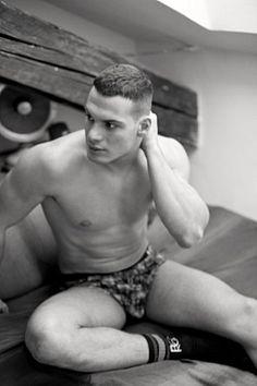 Federico Amoroso male fitness model