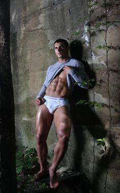 John Rozmus male fitness model