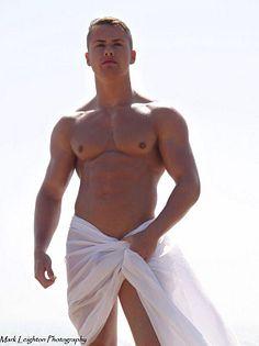 James Zaremba male fitness model