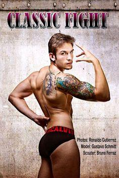 Gustavo Martins Schmitt male fitness model