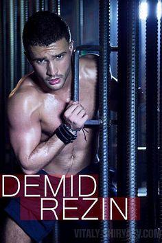 Demid Rezin male fitness model