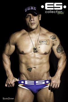 Anderson Swat male fitness model