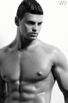 Roman Kalachik male fitness model