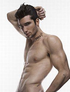 Philip Tamney male fitness model