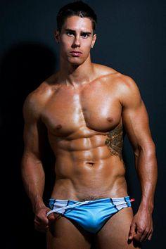 Rene Stewart male fitness model
