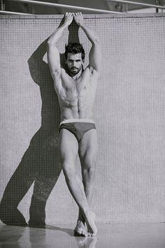Nikola Masonicic male fitness model
