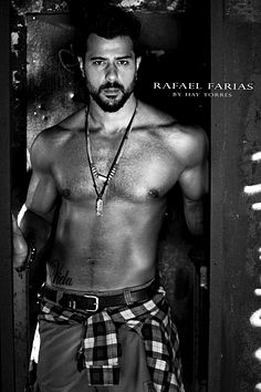 Rafael Farias male fitness model