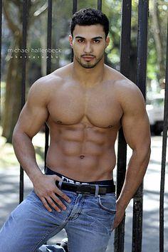 Cory Major male fitness model