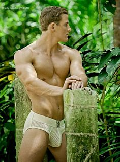 Chad Hatmaker male fitness model