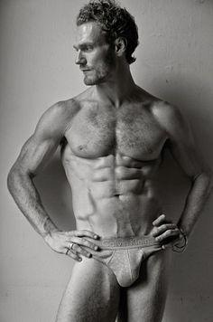David Axell male fitness model