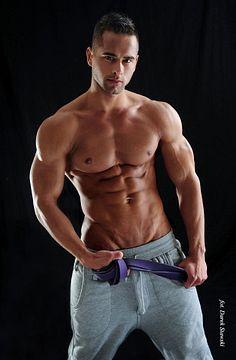 Adam Zajac male fitness model