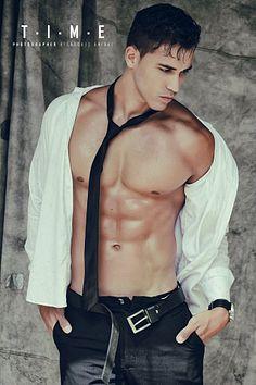 Carlos Aguiar male fitness model