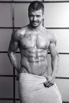 Evgeny Angelov male fitness model