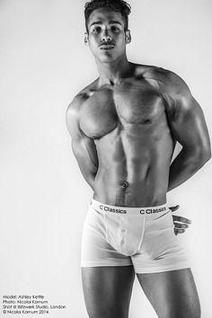 Ashley Kettle male fitness model