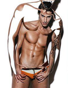 John Tagliaferro male fitness model