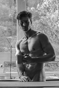 Samuel Rousseau male fitness model