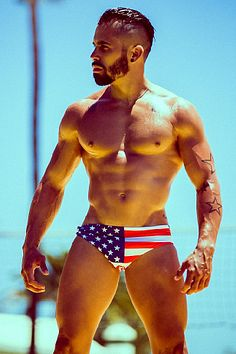 Lionel Lopez male fitness model