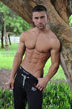 Jon Salvador male fitness model