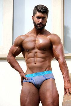 The Navy Diver male fitness model
