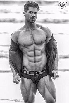Rajesh Yadav male fitness model