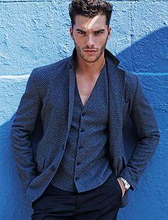 Riccardo Vimercati male fitness model