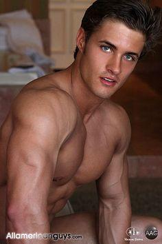 Robby Baker male fitness model
