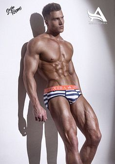 Dmitry Gusev male fitness model