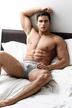 Bench Body Underwear male fitness model