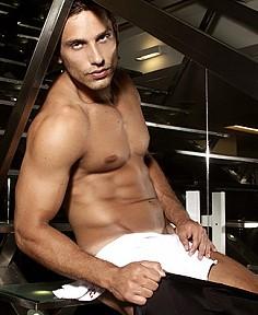 Eliéser Ambrosio male fitness model