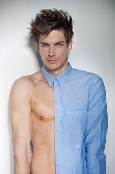 Michael Vavra male fitness model