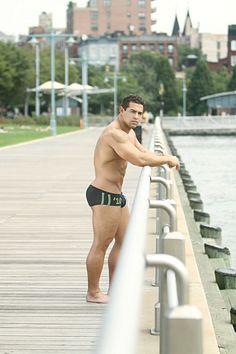 Mark Monty male fitness model